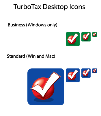 Turbotax on Intuit  Inc    Icons For Turbotax Software Desktop And Ui